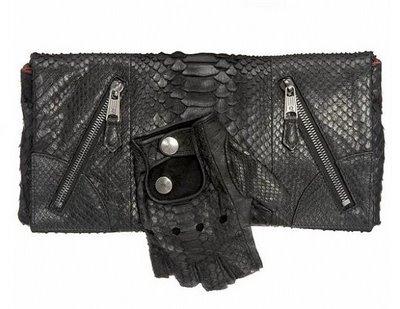 Alex mcqueen fingerless glove bag