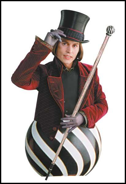 Willy-Wonka-Resin-Mini-Bust